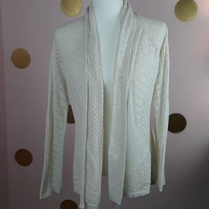 Anthro. Rosie Neria Long Sleeve Knit Cardigan Top